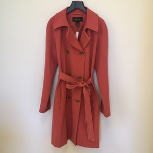 NWT Ann Taylor Trench Coat